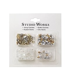 Studio Works® Goldtone and Silvertone Loose Earring Backs