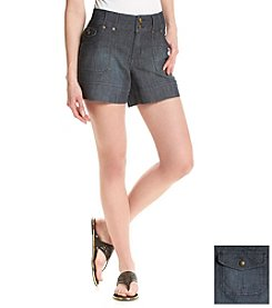 One 5 One® Porkchop Double Button Shorts