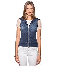 Standards & Practices Elyse Quilted Sleeveless Hooded Vest