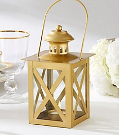 Kate Aspen Set of 3 Classic Goldtone Lanterns