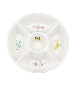 Lenox® Butterfly Meadow® Melamine 5-Section Divided Server
