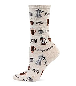 Hot Sox® Coffee Crew Socks