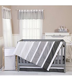 Trend Lab Grey Baby Bedding Collection