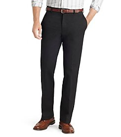 IZOD® Men's Big & Tall American Classic-Fit Flat Front Chinos