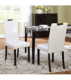 TMS, Inc. Tilo Set of 2 Dining Chairs