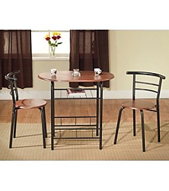 TMS, Inc. Bistro 3-pc. Table and Chairs Set