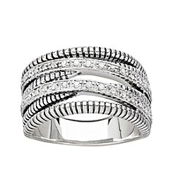 .17 ct. t.w. Diamond Ring in Sterling Silver