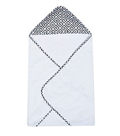 Trend Lab Greek Key Bouquet Hooded Towel