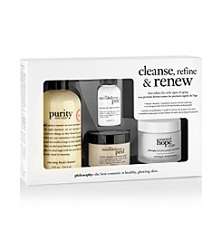 philosophy® Cleanse, Refine & Renew Kit (A $110 Value)