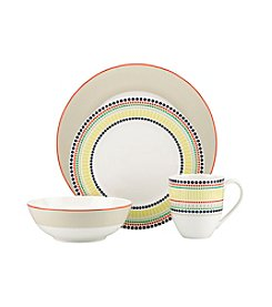 Kate Spade New York® Hopscotch Drive Taupe Dinnerware Collection