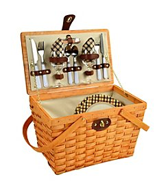Picnic at Ascot Frisco London Honey Picnic Basket for Two