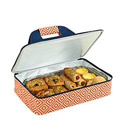 Picnic at Ascot Diamond Collection Insulated Casserole Carrier