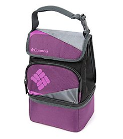 Columbia Silver Ridge Purple Dual Compartment Lunch Pack