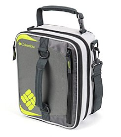 Columbia Grid Line Grey Expandable Lunch Pack