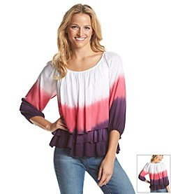 Chelsea & Theodore® Tiered Peasant Top