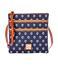 Dooney & Bourke® MLB® Minnesota Twins Triple Zip Crossbody