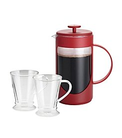 BonJour® French Press Coffee for Two Set