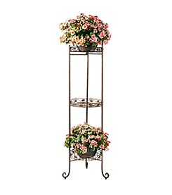 Deer Park Ironworks® 3 Tier Vine and Leaf Planter Stand
