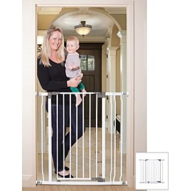 Dreambaby® Liberty Extra Tall Stay Open Gate with Extension