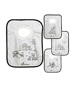 Dreambaby® 4-Pack Jungle Pullover Bibs