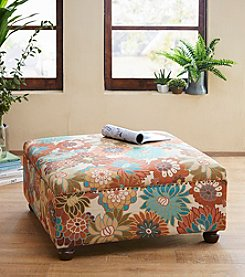 Madison Park™ Carlyle Cocktail Ottoman in Floral