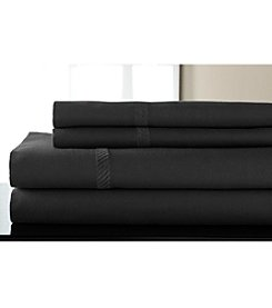 Elite Home Products 300-Thread Count Verona Braid Sheet Set