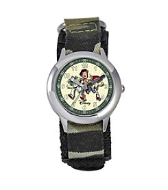 Disney® Boys' Toy Story Camo Time Teacher Watch