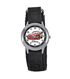 Disney® Boys' Cars Black Time Teacher Watch