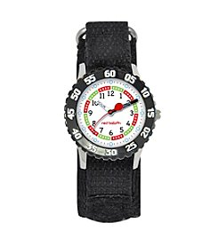 Red Balloon Boys' Black Time Teacher Watch