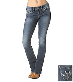 Silver Jean Co. Suki Mid-Rise Slim Boot-Cut Jeans