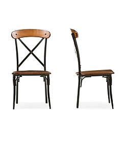 Baxton Studios Broxburn Set of 2 Dining Chairs