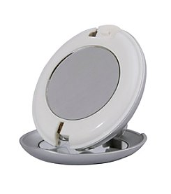 Zadro LED Lighted Compact Folding Mirror with Magnification