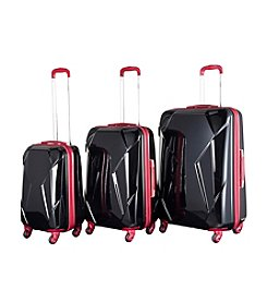 Chariot® 3-pc. Antonio ABS Luggage Set