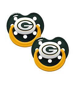 Baby Fanatic NFL® Green Bay Packers Baby 2-Pack Pacifiers