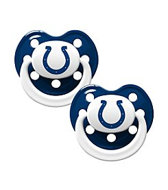 Baby Fanatic NFL® Indianapolis Colts 2-Pack Baby Pacifiers