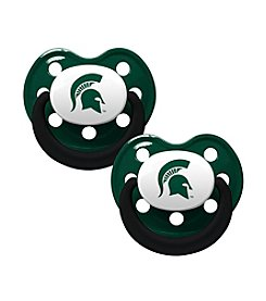 Baby Fanatic NCAA® Michigan State University 2-Pack Baby Pacifiers