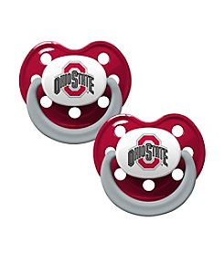 Baby Fanatic NCAA® Ohio State 2-Pack Baby Pacifiers