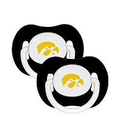 Baby Fanatic NCAA® University of Iowa 2-Pack Baby Pacifiers