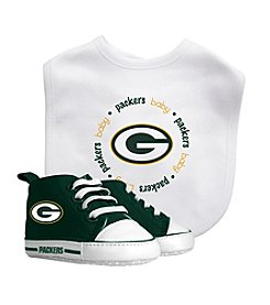 Baby Fanatic NFL® Green Bay Packers Baby Bib And Shoe Set