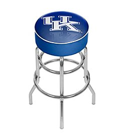 NCAA® University of Kentucky Chrome Bar Stool with Swivel - Reflection
