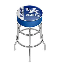 NCAA® University of Kentucky Chrome Bar Stool with Swivel