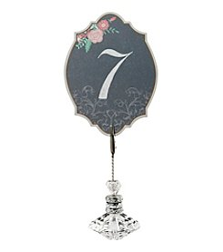 Lillian Rose® Black and Pink Table Numbers 1-24