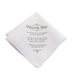 Lillian Rose® Men's Thank You Hankie