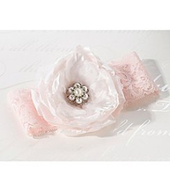 Lillian Rose® Blush Pink Garter