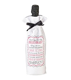 Lillian Rose® Bridesmaid/Sidekick Wine Bag
