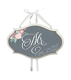 Lillian Rose® Black Mr. Oval Sign