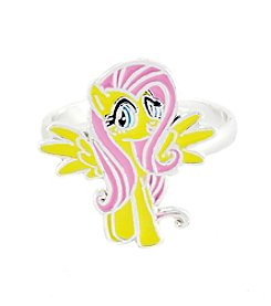 My Little Pony Silver Plated Girls' Fluttershy Adjustable Ring