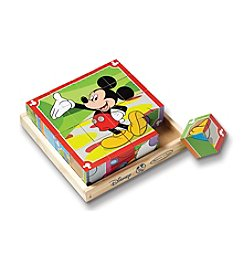 Melissa & Doug®  Mickey Mouse Clubhouse Wooden Cube Puzzle