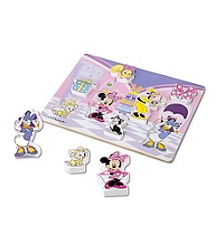 Melissa & Doug® Minnie Wooden Chunky Puzzle