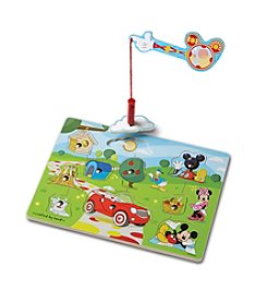 Melissa & Doug® Mickey Mouse Clubhouse Hide & Seek Wooden Magnetic Game